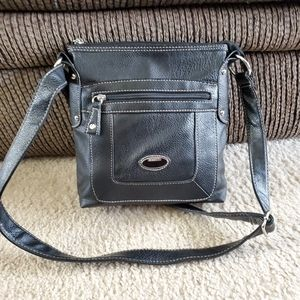 Rosetti black crossbody bag